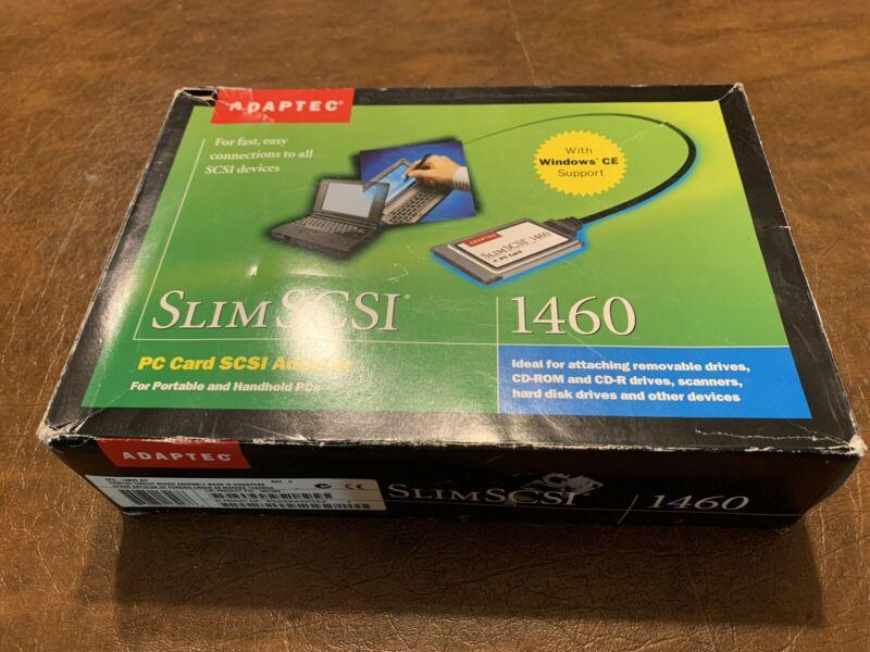 Adaptec SlimSCSI PCMCIA Fast SCSI Adapter Card 1460 w/ 25 pin cable