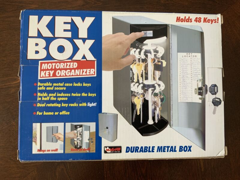 Magnif Motorized Key Organizer Box