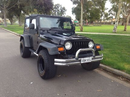 For Sale 2003 Jeep Wrangler TJ Sport 4X4 Manual Kidman Park Charles Sturt Area Preview