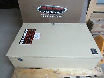 Generac Gts 200 Amp 2 Pole Automatic Transfer Switch 120240 Vac 1 Ph 89a02144-w