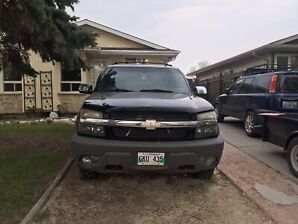 2002 Chevy avalanche Z71 (not safetied)