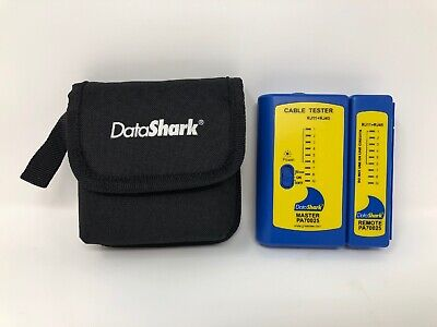 Greenlee Datashark Master Pa70025 Cable Tester With Remote And Case