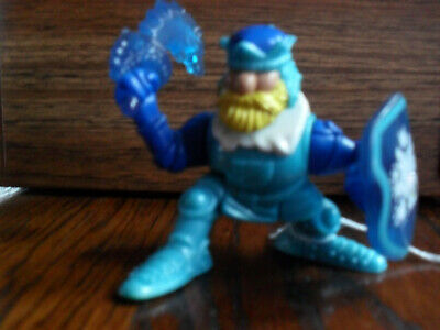 Fisher Price Great Adventures 1995 Knights Blue King Ice Brigade