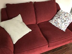 Couch, love seat, chair and a half
