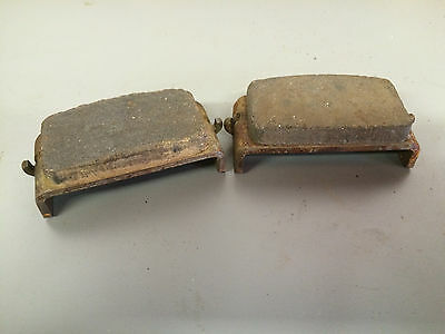Rokon Rt340 1974 76  Brake Disc Pads     Good Used Items   Will Clean Up Great
