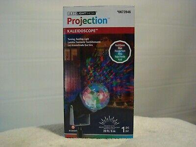 LED Projection Spotlight _Kaleidoscope Christmas Hanukkah _Gemmy_Priority Ship! ()