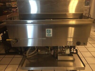 Crest Ultrasonic Cleaner And Lubricator