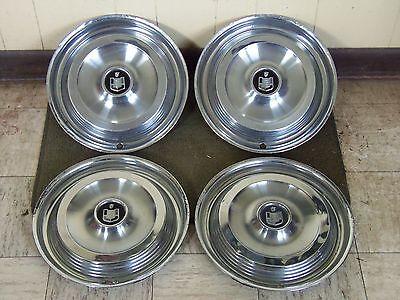 "1961 Mercury HUB CAPS 14"" Set of 4 Wheel Covers 61"