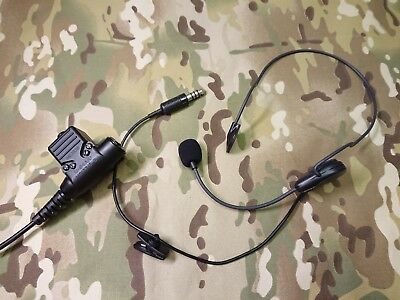 OTTO lightweight Headset with Regular U-94/A PTT , Electret mic , NATO Wiring, used for sale  Shipping to United States