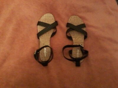 West loop leather sandals NEW size (West Loop Leather)