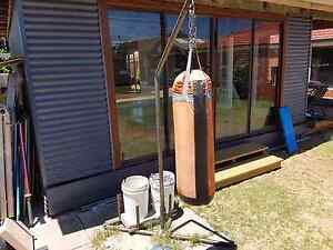 Punching bag stand battle rope Forrestfield Kalamunda Area Preview