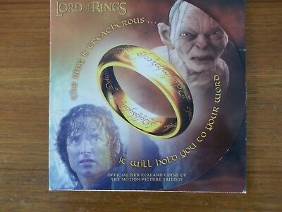 Lord Of The Rings 2003 Royal Mint New Zealand Light Versus Dark 6 Coin Set for sale  Shipping to South Africa