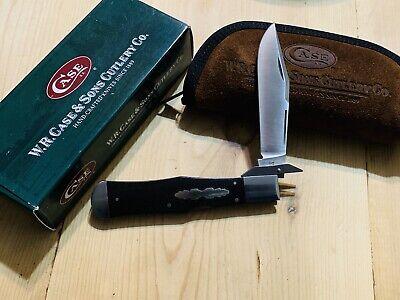 2007 TONY BOSE CASE XX Limited Edition Large Coke Bottle EBONY Lockback KNIFE
