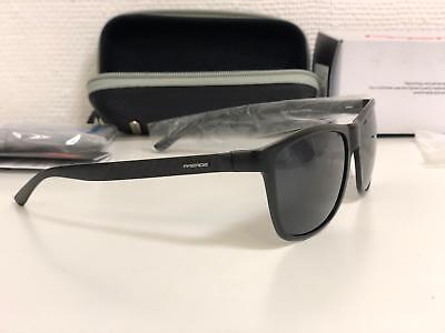 Paerde Unisex retro AL-MG Metallrahmen polarisierte Sonnenbrille für Männer Frau
