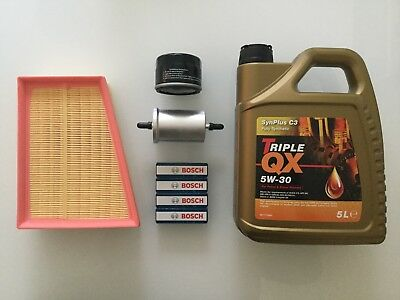 FITS RENAULT MEGANE 2002-2008, 1.6i & 2.0i PETROL , SERVICE KIT INCLUDING OIL