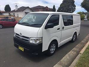 Toyota Hiace LWB 2013 Automatic, Turbo Diesel, 1 Owner, Ex clean! Lidcombe Auburn Area Preview
