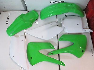 Race tech Replica Plastic kit  KAWASAKI KX85 KX100 1998-2013 fenders plates