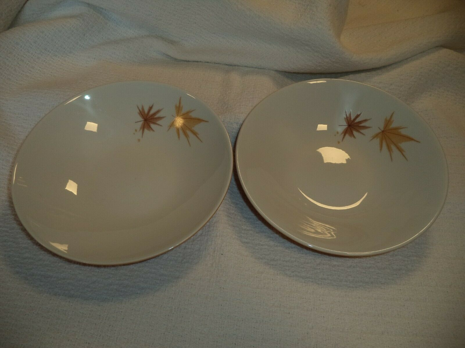 MCM Iroquois China Informal Ben Seibel Harvest Time Soup Bowls - $16.95