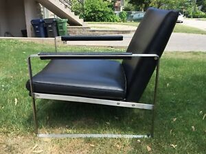 Soho Concepts Leather Chair - Retails for $1,439 NEVER USED