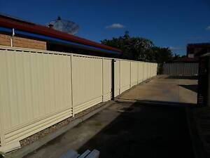 FENCING COLORBOND HARDI FENCE ALUMINIUM SLATS GATES AND REPAIRS Canning Vale Canning Area Preview