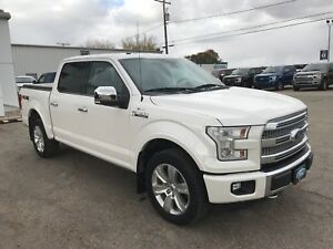 2015 Ford F-150 Platinum One Owner | Reverse Camera
