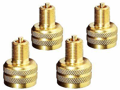 4x Adapter Reduktion von EM Ventil auf Auto Ventil Nutzfahrzeug LKW Reifenventil