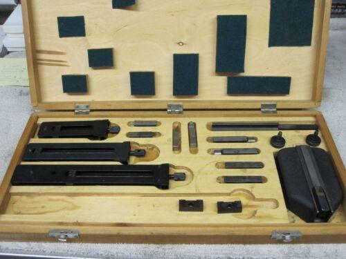Mitutoyo 516-603 Rectangular Gage Block Accessories Set