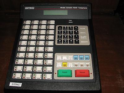 Zetron Model 3240d Psap Telephone 901-9563 - Great Condition