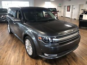 2017 Ford Flex Limited AWD (s-roof/Nav/lleather)