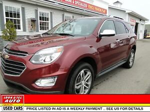 2016 Chevrolet Equinox LTZ /AS LOW AS $101.00 A WEEK
