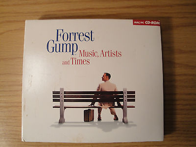 Forrest Gump: Music, Artists and Times CD-ROM 3 cds