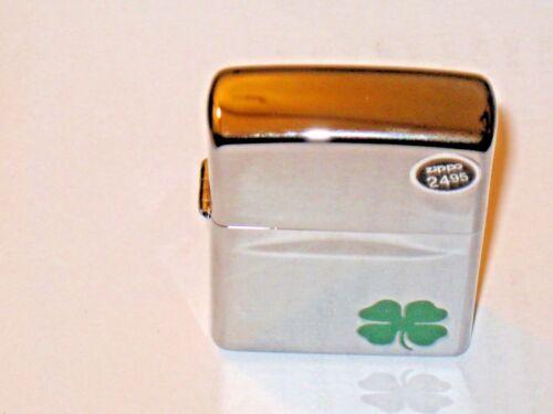 USA Windproof Zippo Lighter 24007 a Bit O Luck Clover 4 H St Patrick