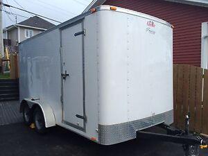 7'x14' Tandem Axle Enclosed Trailer