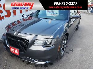 2016 Chrysler 300 S LEATHER INTEIOR, SUNROOF, NAVIGATION