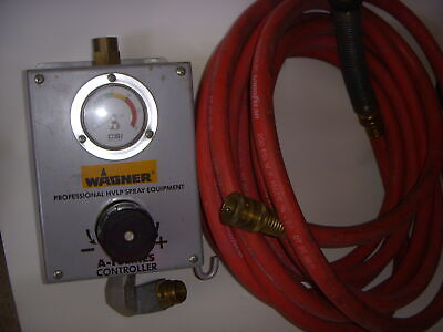 Wagner A-I Series Contoller Professional HVLP Spray Equipment / Goodyearschlauch (Wagner Hvlp)