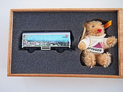 MÄRKLIN Wagenpackung STEIFF 94267 Spur H0, Kühlwagen und Steiff-Teddy