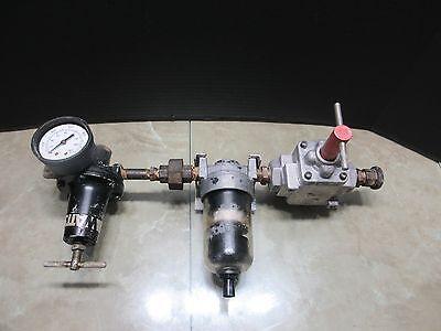 Okuma Ls-n Cnc Lathe Watts Air Filter Regulator Valve Unit Lm-50 Cnc