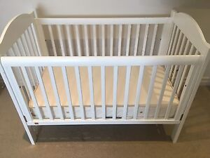 TWINS? 2 x Boori King Parrot Cot + mattresses + 1 change table Adelaide CBD Adelaide City Preview