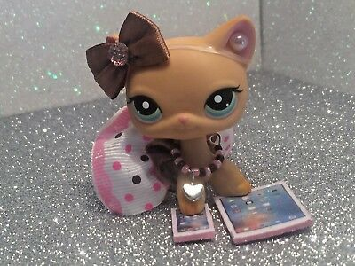 Littlest Pet Shop Clothes Accessories LPS Custom Outfit  CUPCAKE NO CAT/DOG  - Littlest Pet Shop Cupcakes