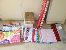 Assorted gift wrapping materials Beverley Park Kogarah Area Preview