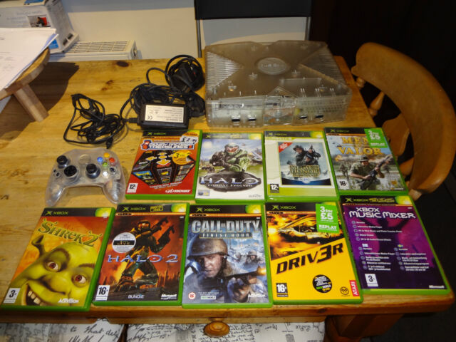 Microsoft Xbox Crystal Pack 8 GB Translucent Console