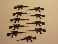 LEGO Guns Brown Kar98 Rifle WWII Army Military Weapon x15