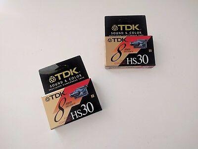 Кассеты и диски TDK 8mm Video