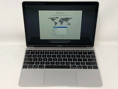 MacBook 12 Silver Early 2016 MLHC2LL/A 1.2GHz m5 8GB 512GB Good - Screen Wear