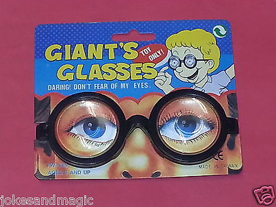GIANT GLASSES COSTUME GEEK FUNNY GIFT GLASSES