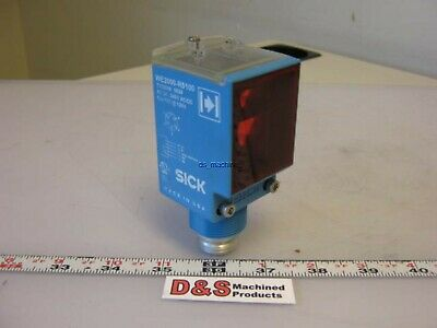 Sick We2000-r5100 Photoelectric Photo Eye Optical Sensor 24v To 240vacdc