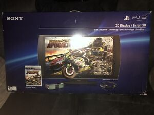 PS3 3D TV & WHITE PS3 BUNDLE *IN BOXES*