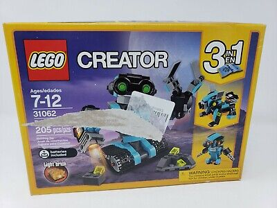 Lego Creator 3in1 Robot Explorer 31062 Robot - New & Sealed in Damaged Box