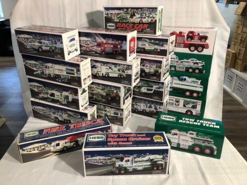 Hess Trucks (Huge Lot of 20)- NIB- Including 40 & 50th Anniversary (2000-2019)