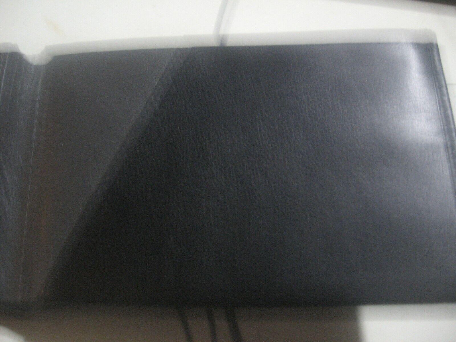 New Ernest Millar Black Leather Travel Passport Wallet-Credit Card Slots-Money - $8.00